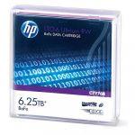 HP LTO6 Ultrium 6.25TB BaFe RW Data Tape - C7976B