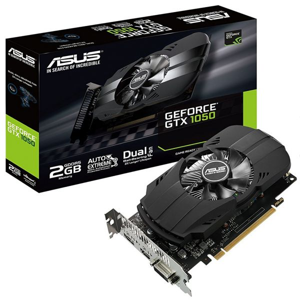 Asus GeForce GTX1050 Phoenix 2GB GDDR5 - 90YV0AA0-M0NA00