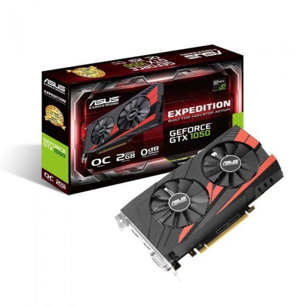 Asus GeForce GTX1050 Expedition OC 2GB GDDR5 - 90YV0A84-M0NA00
