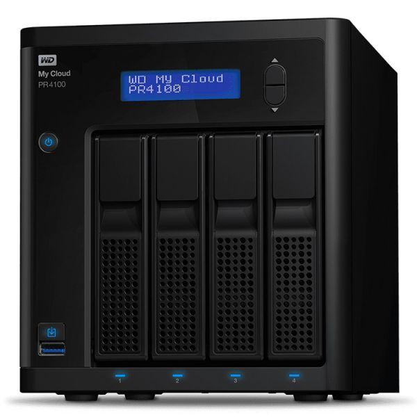 Western Digital 24TB My Cloud PRO PR4100 USB 3.0 - WDBNFA0240KBK-EESN
