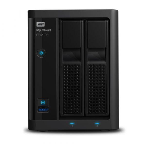 Western Digital 16TB My Cloud PRO PR2100 USB 3.0 - WDBBCL0160JBK-EESN