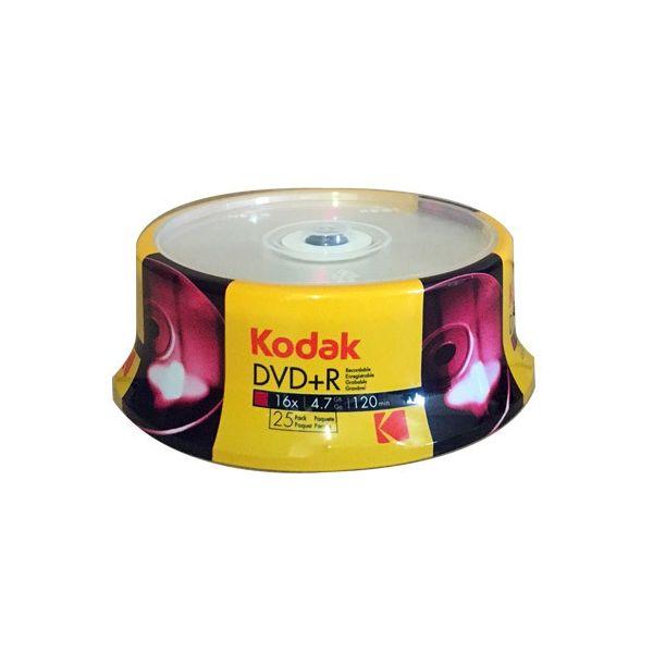 Kodak DVD+R 16x 4.7GB 25 unidades - K1310325
