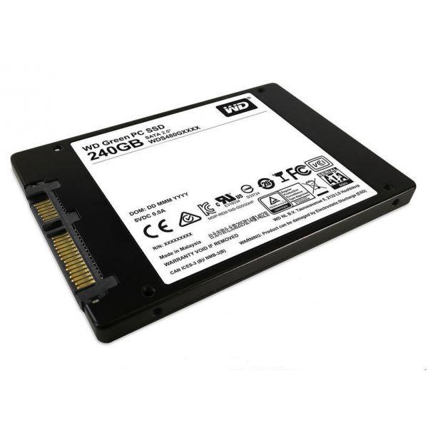 Western Digital 240GB Green 2.5 SSD SATA3 - WDS240G1G0A