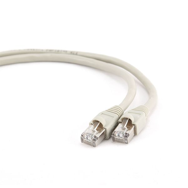 Equip Cabo REDE S/FTP HF Cat.6 0,5m branco - 605517