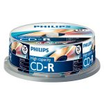 Philips CD-R 90Min 800MB 40x Spindle 25un