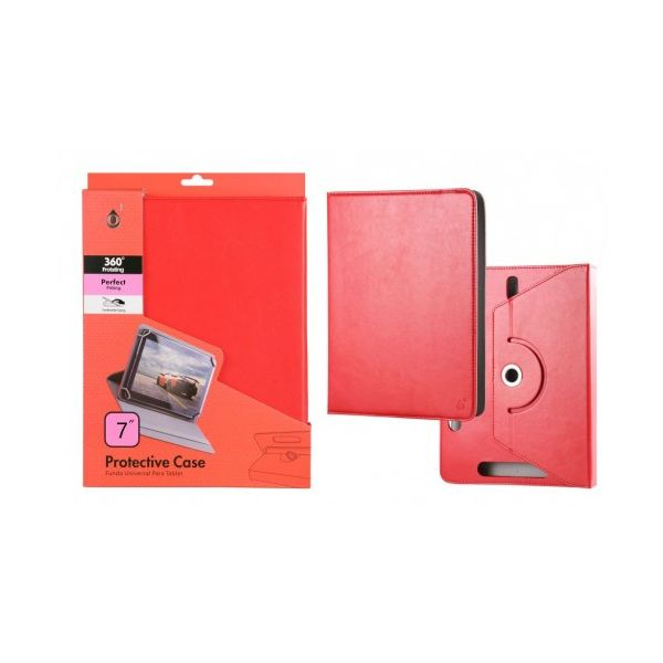 MTK One + Capa Universal Cris para Tablet 7'' Red - 29290023