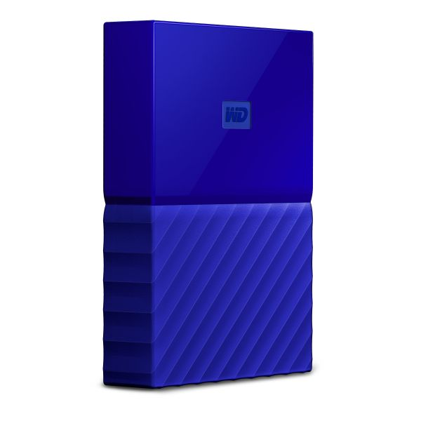 Disco Externo Western Digital 4TB My Passport 2.5 USB 3.0 Blue - WDBYFT0020BBL-0A