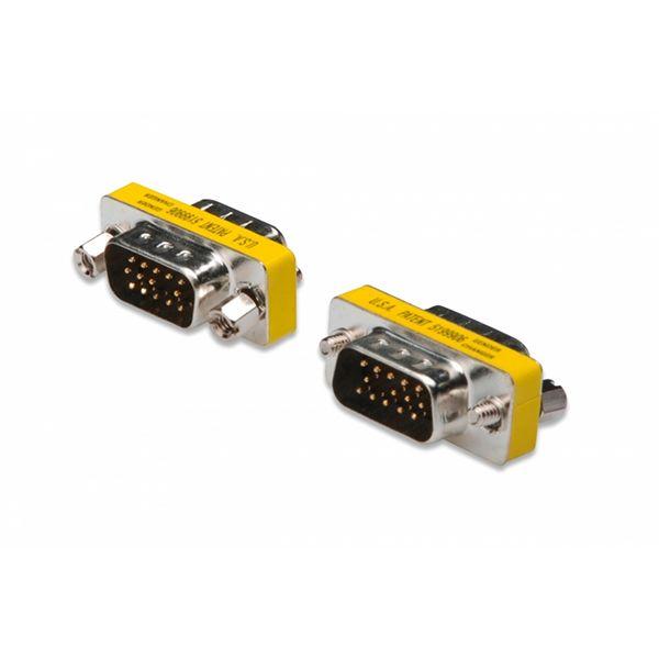 DIGITUS ADAPTADOR VGA HD-DSUB 15p MACHO - AK-610511-000-I