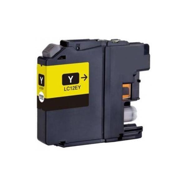 Tinteiro Brother LC-12EY Yellow Compatível