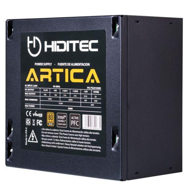 Hiditec Fonte Ártica 500W 80 Plus Bronze