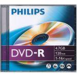 Philips DVD-R 4.7GB 16X Jewell Case