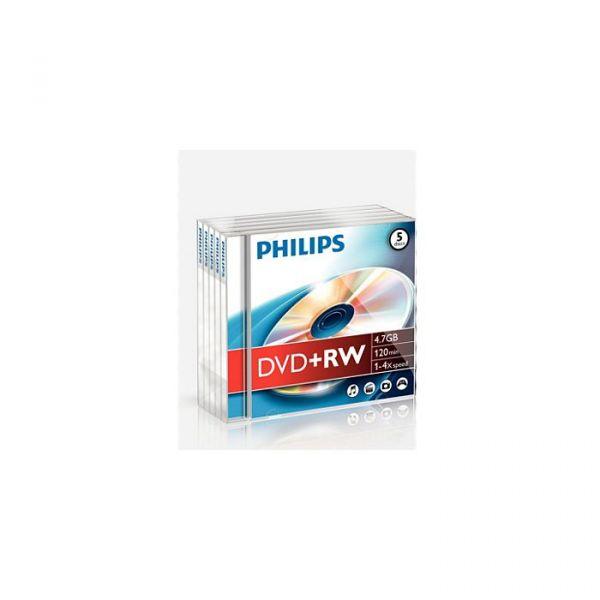 Philips DVD-RW 4.7GB 4X Jewell