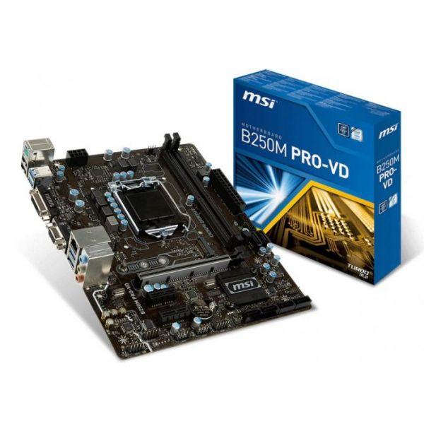 Motherboard MSI B250M PRO-VD - 911-7A74-002