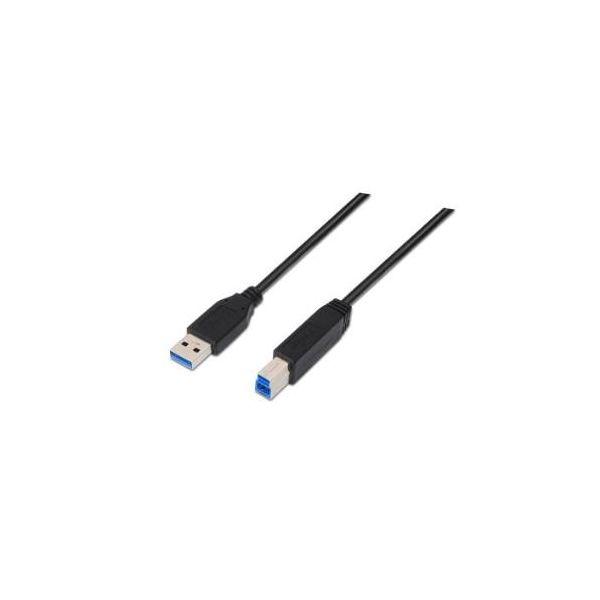 Nanocable 1m USB A USB B Cabo USB - 10.01.0801-BK