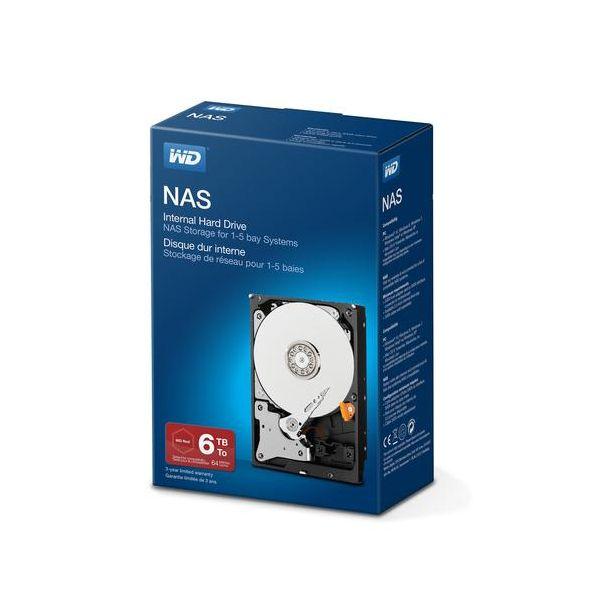 Western Digital 6TB Network Soho SATA 6GBs - WDBMMA0060HNC-ERSN