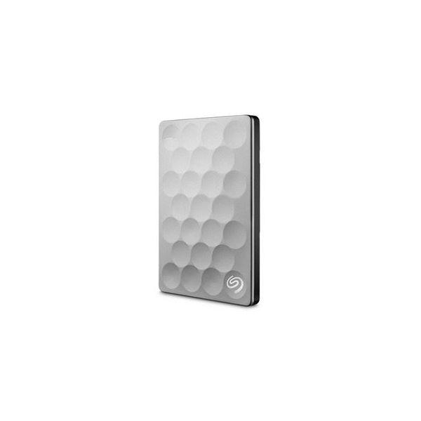 Disco Externo Seagate 1TB Backup Plus Ultra Slim Portable USB 3.0 Silver - STEH1000200