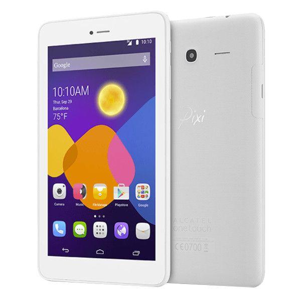 "Tablet Alcatel OneTouch Pixi 3 7"" 4GB Wi-Fi White"