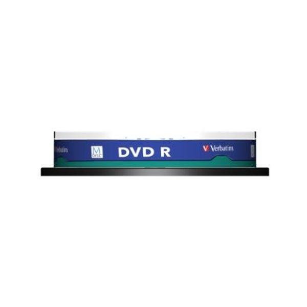 Verbatim M-Disc DVD R 4,7GB 4x Speed Printable Cakebox