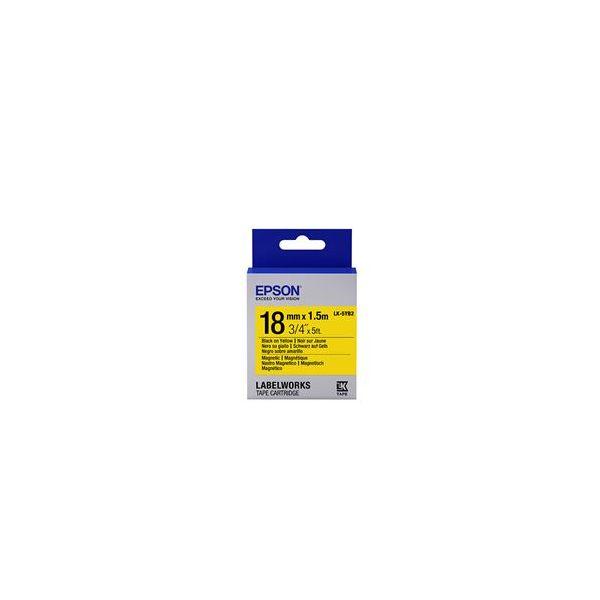 Epson LK-5YB2 Black on Yellow C53S655017