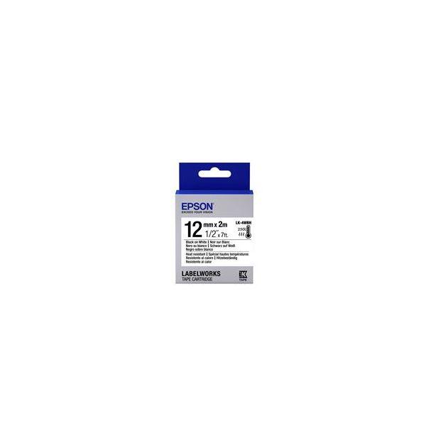 Epson LK-4WBH Black on White C53S654025