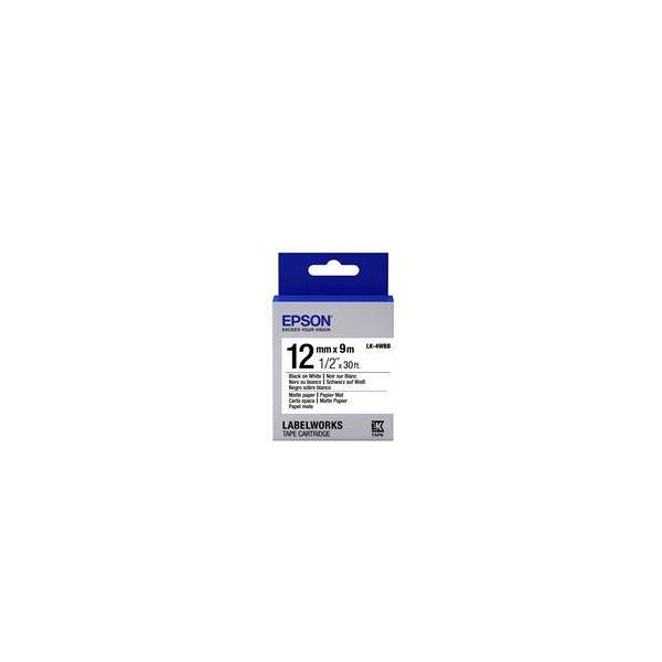 Epson LK-4WBB Black on White C53S654023