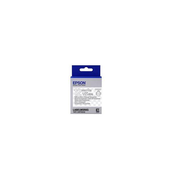 Epson LK-4TWN White on Clear C53S654013