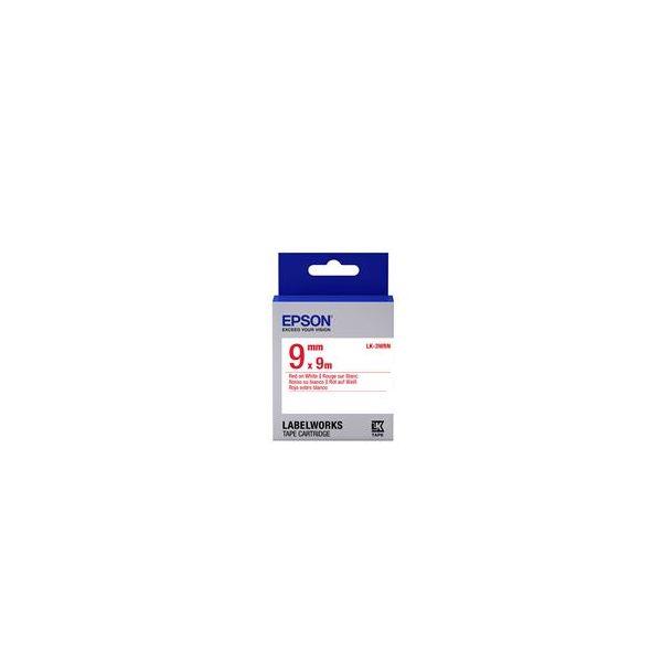 Epson LK-3WRN Red on White C53S653008