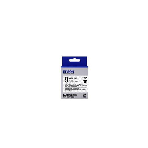 Epson LK-3TBW Black on Clear C53S653006