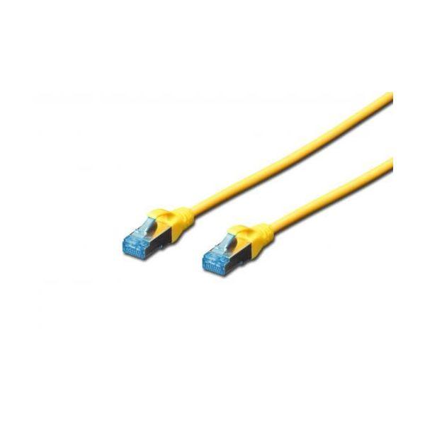 Digitus Chicote UTP CAT5E Amarelo 1mt - DK-1511-010/Y