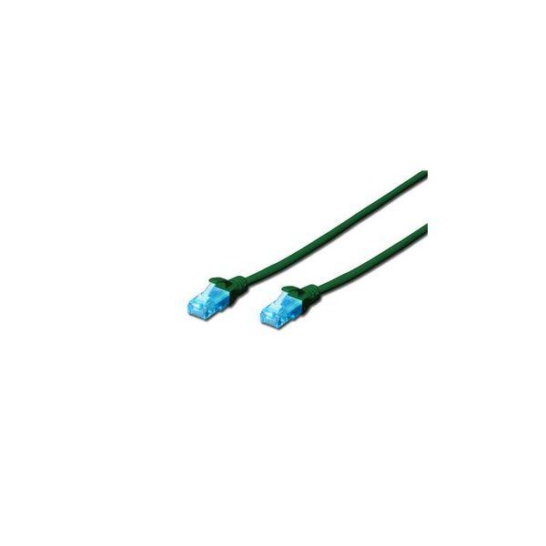 Digitus Chicote UTP CAT5E Verde 1mt - DK-1512-010/G