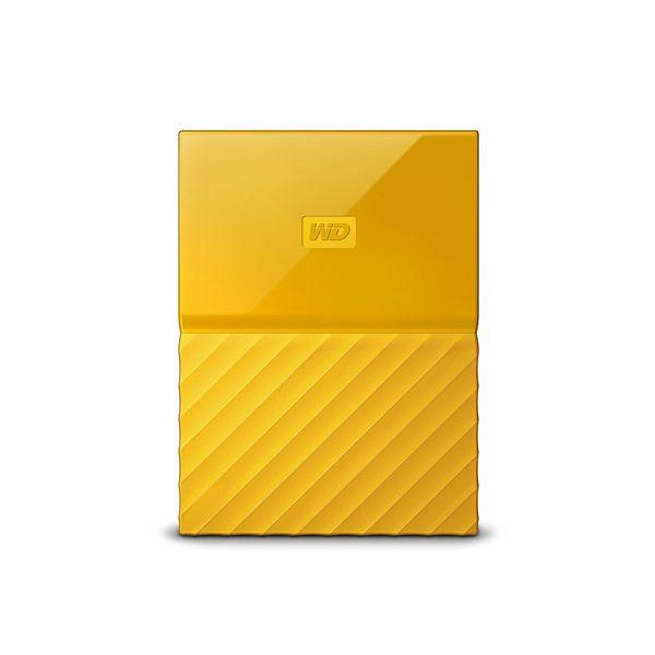 Disco Externo Western Digital 2TB My Passport 2.5 USB 3.0 Yellow - WDBYFT0020BYL-WESN