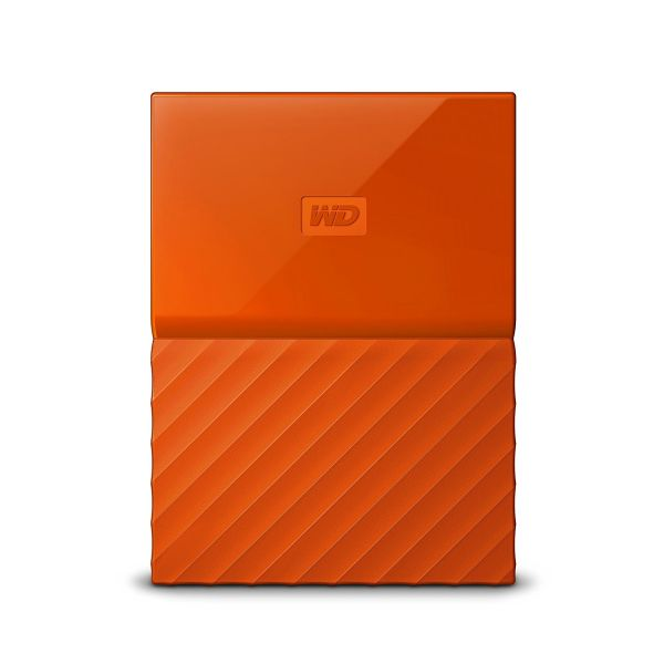Disco Externo Western Digital 2TB My Passport 2.5 USB 3.0 Orange - WDBYFT0020BOR-WESN
