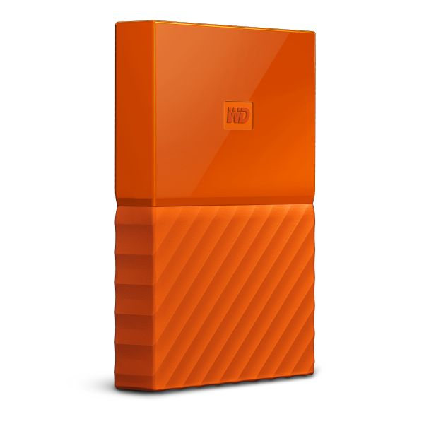 Disco Externo Western Digital 1TB My Passport 2.5 USB 3.0 Orange - WDBYNN0010BOR-WESN