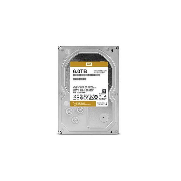 Western Digital 6TB Gold 7200rpm 3.5 128MB SATA III - WD6002FRYZ