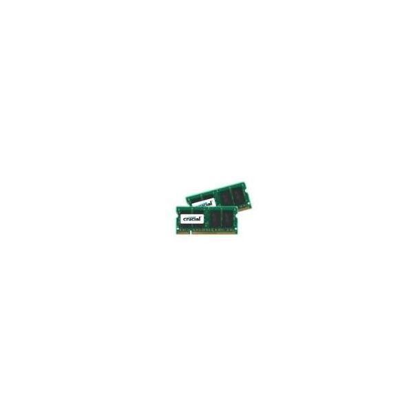 Memória RAM Crucial 4GB 2x2GB DDR2 800MHz PC6400 - CT2KIT25664AC800