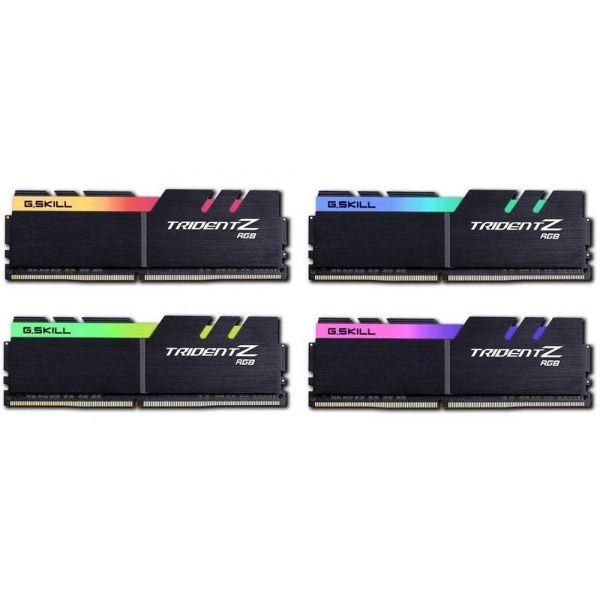 Memória RAM G.Skill 32GB TridentZ AURA (4x 8GB) DDR4 3200Mhz PC4-28800 CL17 - F4-3600C17Q-32GTZR