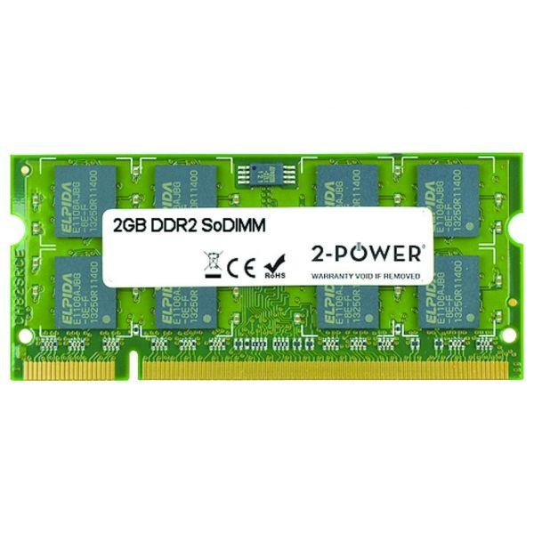 2-Power 2GB 2Rx8 PC2-6400S 800MHz DDR2 CL6 -MEM4302A