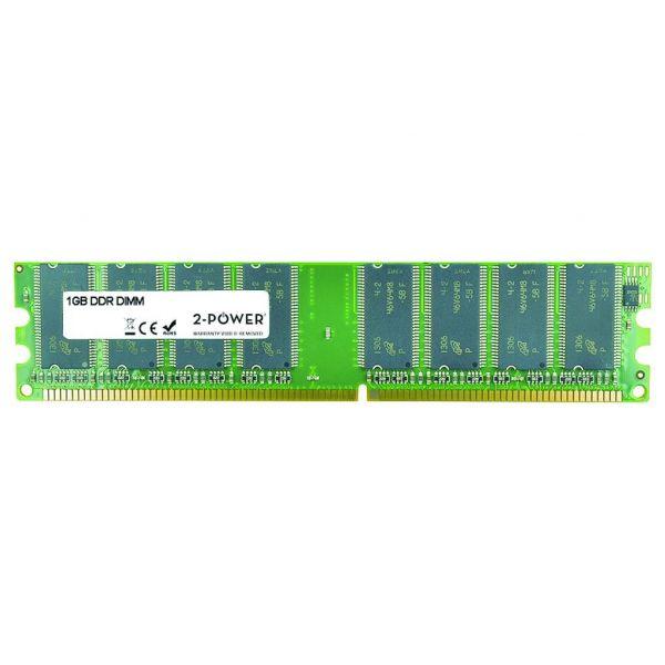 2-Power 1GB 2Rx8 400MHz DDR Non-ECC CL3 - MEM1002A