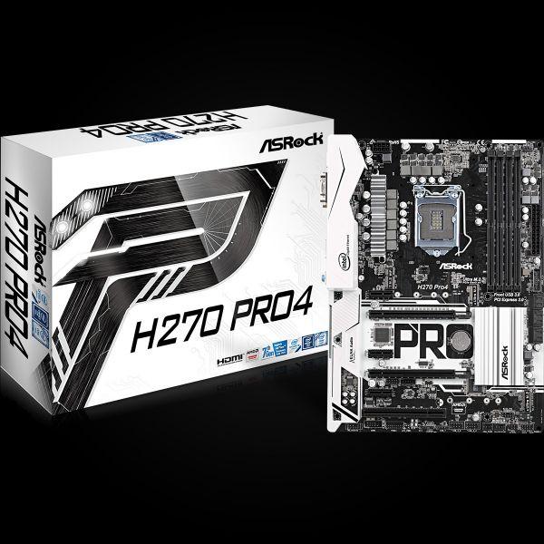 Motherboard ASRock H270 PRO4