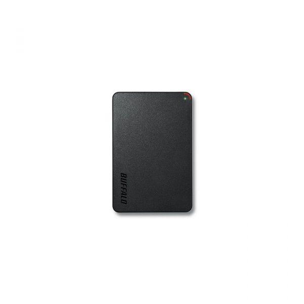 Disco Externo Buffalo 1TB MiniStation Slim Black - HD-PCF1.0U3BD-WR