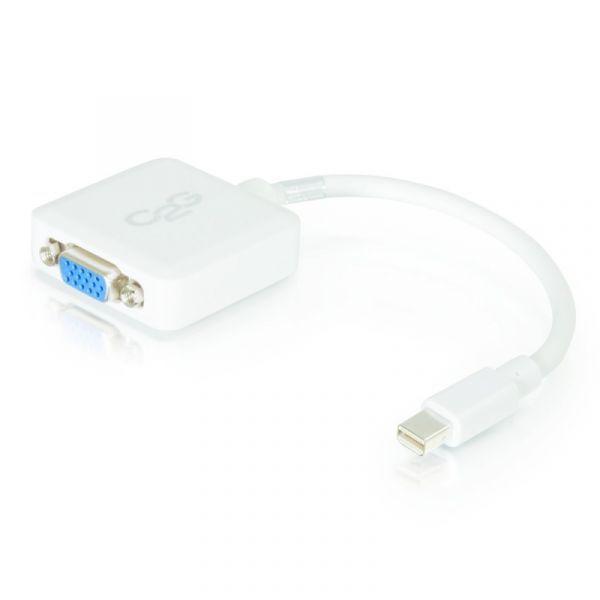 C2G Adaptador Vga Mini Displayport (m) / hd 15 (f) 20cm - 84316