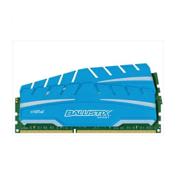 Memória RAM Crucial 8GB Ballistix Sport XT (2x 4GB) DDR3 1866MHZ PC3-14900 - BLS2C4G3D18ADS3J