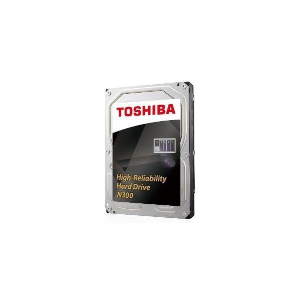 "Toshiba 8TB N300 NAS 3.5"" 7200rpm SATA III Bulk - HDWN180UZSVA"