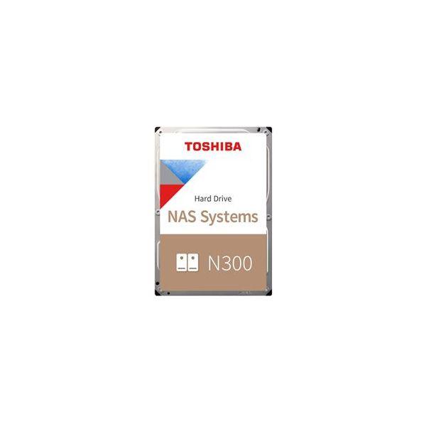 "Toshiba 6TB N300 NAS 3.5"" 7200rpm SATA III Bulk - HDWN160UZSVA"