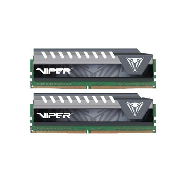 Memória RAM Patriot 16GB Viper Elite (2x 8GB) DDR4 2133MHz PC4-17000 - PVE416G213C4KGY