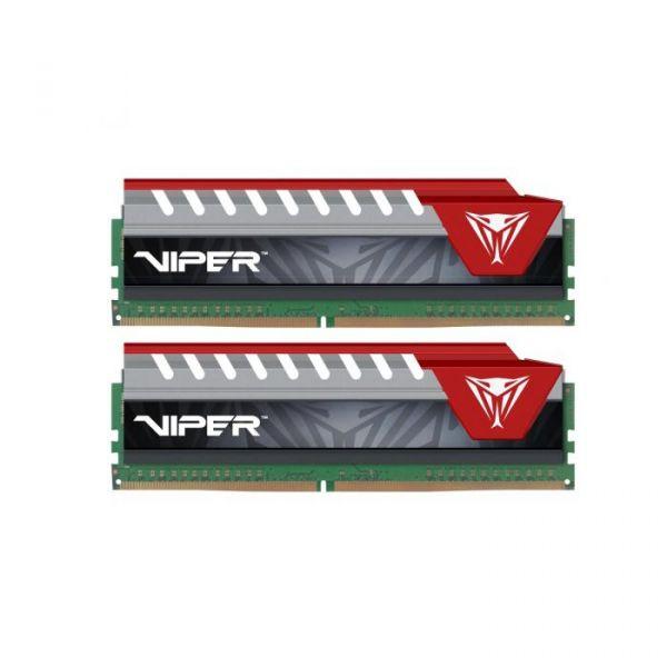 Memória RAM Patriot 8GB Viper Elite (2x 4GB) DDR4 2800MHz PC4-22400 - PVE48G280C6KRD