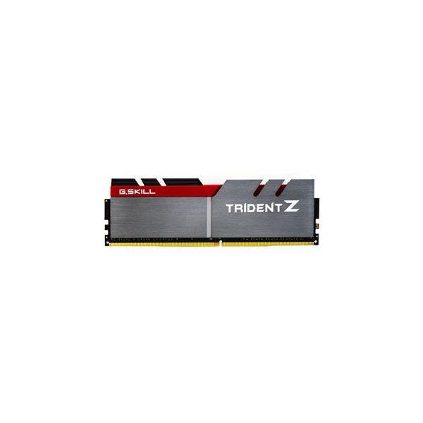 Memória RAM G.Skill 64GB Trident Z (4x 16GB) DDR4 3200MHz PC4-25600 CL16 Silver/Red - F4-3200C16Q-64GTZ