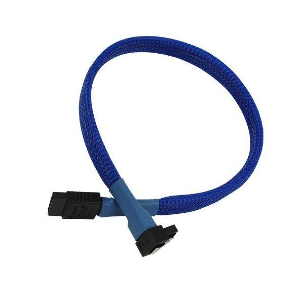 Nanoxia Cable SATA3 6Gb/s 60cm em camadas Azul