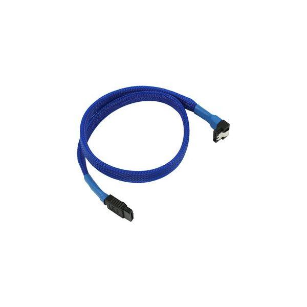 Nanoxia Cable SATA3 6Gb/s 45cm em camadas Azul