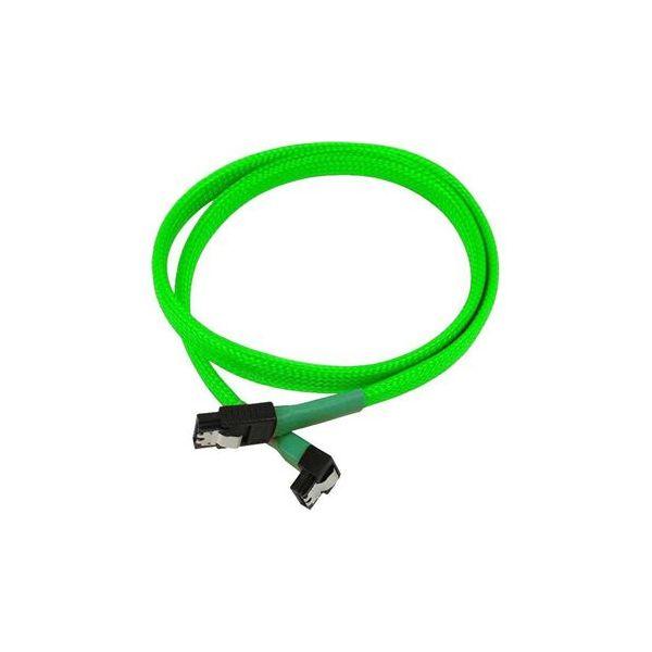 Nanoxia Cable SATA3 6Gb/s 60cm em camadas Verde